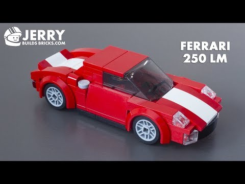 How to build LEGO Ferrari 250 LM (MOC #46)