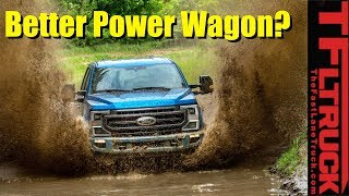 Ford Out Powers the Power Wagon! Meet the New 2020 Ford Tremor Off-Road Super Duty