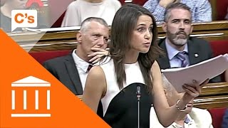 Inés Arrimadas solicita a Carme Forcadell se lea la interlocutoria del T. Constitucional