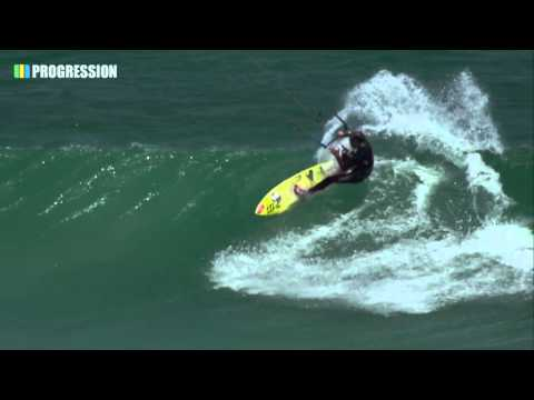 Filming For New Kitesurfing Wave Series : Quick Clip from Witsands