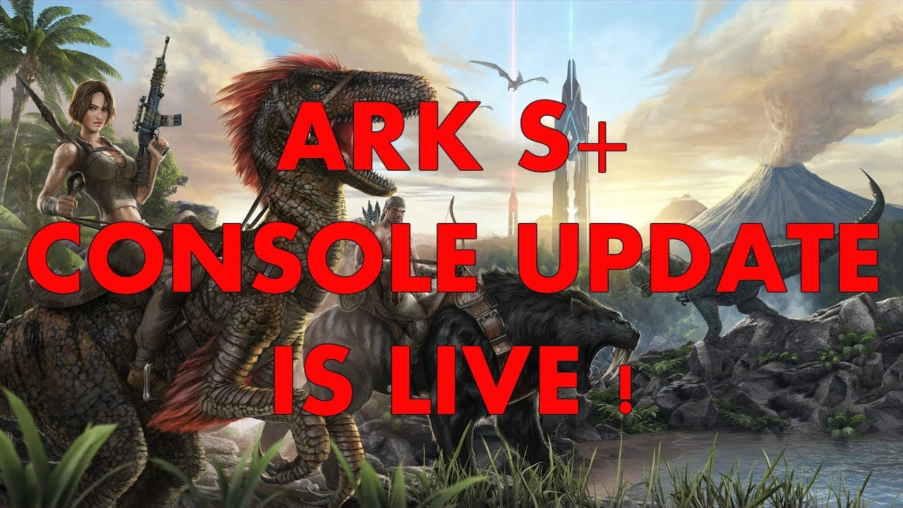 ARK S+ CONSOLE update is LIVE !