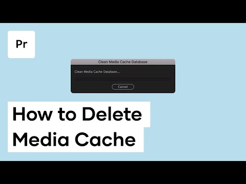 How To Delete Cache Data In Premiere Pro (And After Effects)   Tutorial