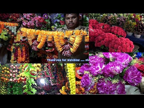 Home Decor Items for Diwali at Cheapest Price | Artificial Flowers| koti, hyderabad Diwali shopping