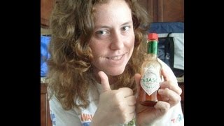 tabasco challenge Hot Sauce all most killed me  Crazy  Tabsaco