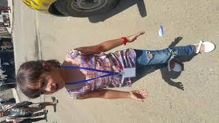 ماريا قحطان قبل اشتراكها في برنامج The Voice Kids ذا فويس