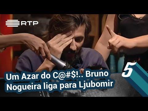 Um Azar do C@#$!.. Bruno Nogueira liga para Ljubomir Stanisic | 5 Para a Meia-Noite | RTP
