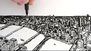 How to Draw a City: A View From The Shard