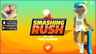 Smashing Rush: Parkour Action