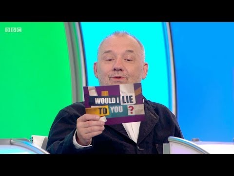 Does Bob Mortimer crack an egg into his bath? - Would I Lie to You? [HD][CC-EN,TR]