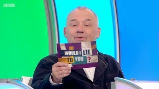 Does Bob Mortimer crack an egg into his bath? - Would I Lie to You? [HD][CC-EN,PT,TR]
