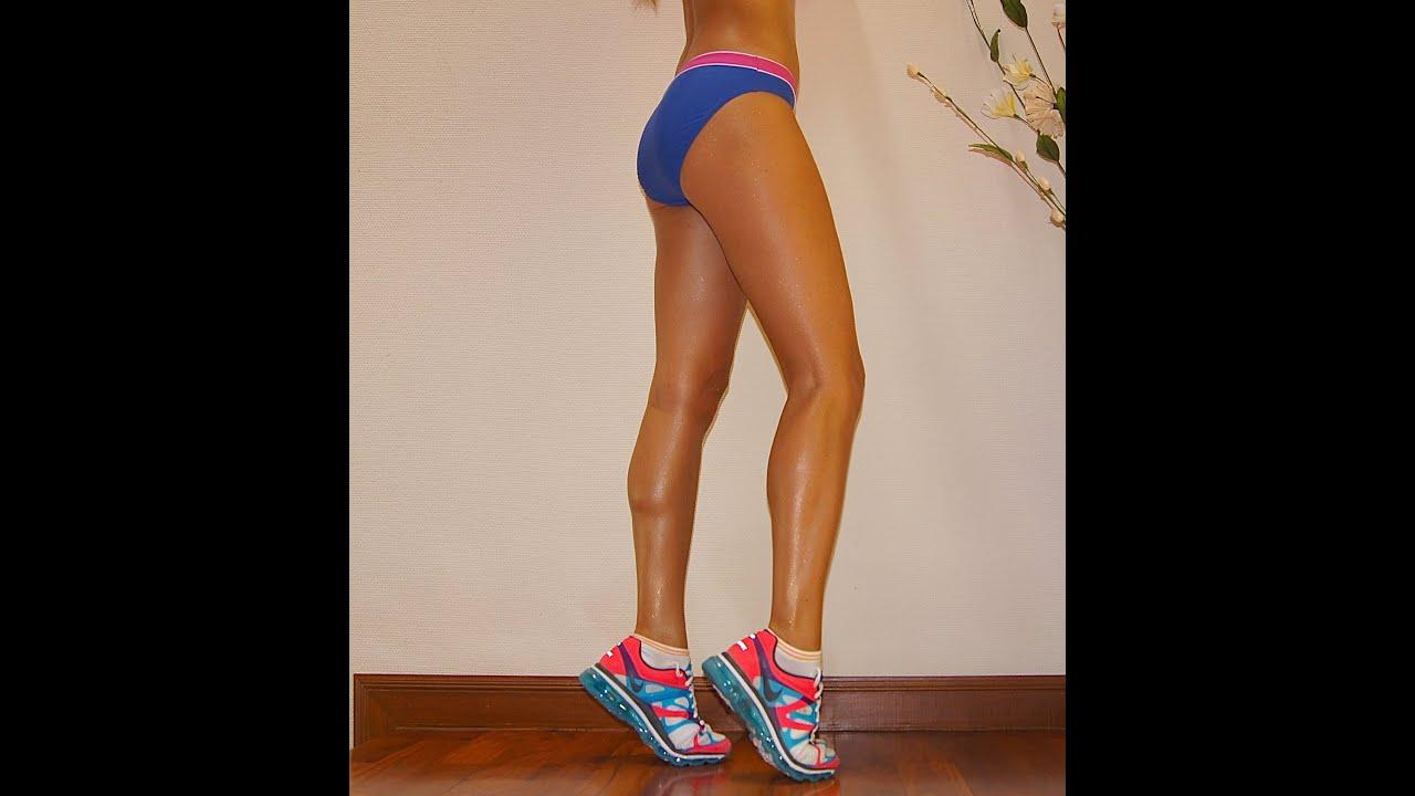 как похудеть в икрах ног