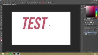 How to Rotate Text in Photoshop