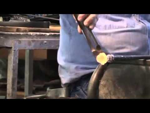 Video creazione lampadario artigianale veneziano lavorazione originale ...