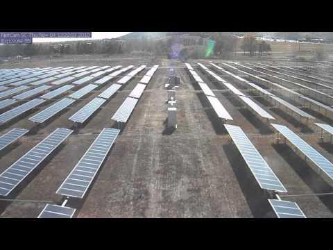 Solar Tracking Timelapse