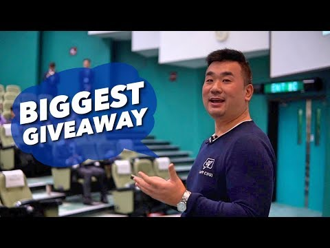 I turned my HOBBY into a JOB! (BIGGEST GIVEAWAY)