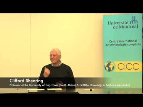 Clifford Shearing : Whither Criminology