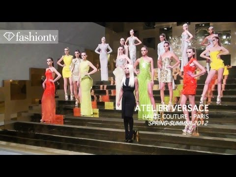 Atelier Versace Show at Paris Couture Fashion Week Spring/Summer 2012 | FashionTV – FTV
