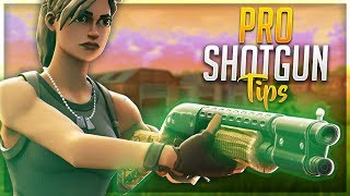 5 ADVANCED TIPS TO BECOME A SHOTGUN PRO! Win Every Shotgun 1v1 (Fortnite Battle Royale)