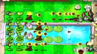 Растения против Зомби - Мини-игра 16