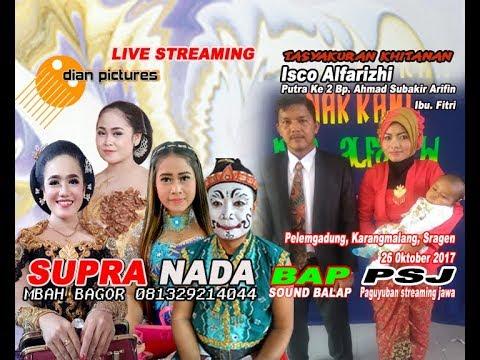 LIVE STREAMING//SUPRA NADA/DIAN PICTURES/BAP SOUND BALAP//PELEMGADUNG //KARANGMALANG//SRAGEN