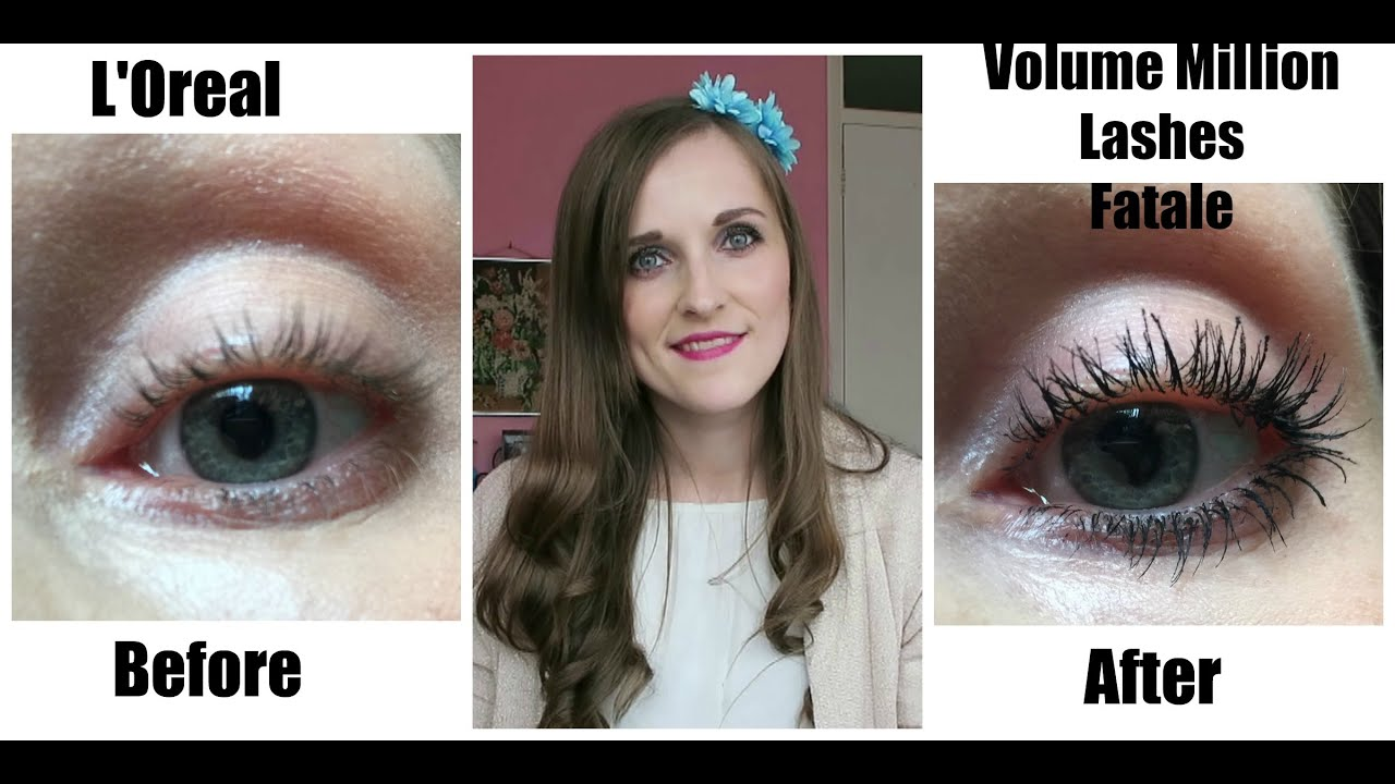 79da9c8b81f L'Oreal Volume Million Lashes Fatale Review/Try On - YouTube