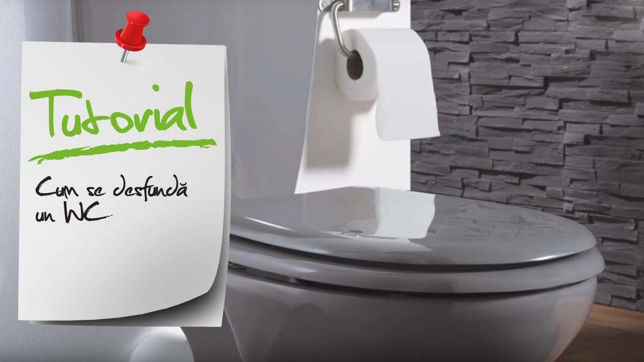 Cum Sa Desfund Un Wc Ghid Video Desfundare Vas Toaleta Leroy Merlin Romania