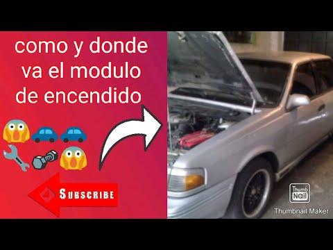 Como Va Y En Donde Esta El Modulo De Encendido Del Ford Topaz.