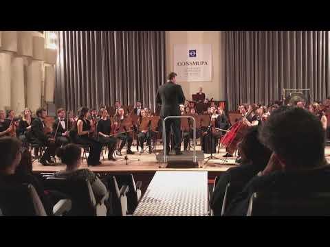 Sinfónica Consmupa. Oviedo. 2ª parte. Aldo Ceccato, Master Class Dirección