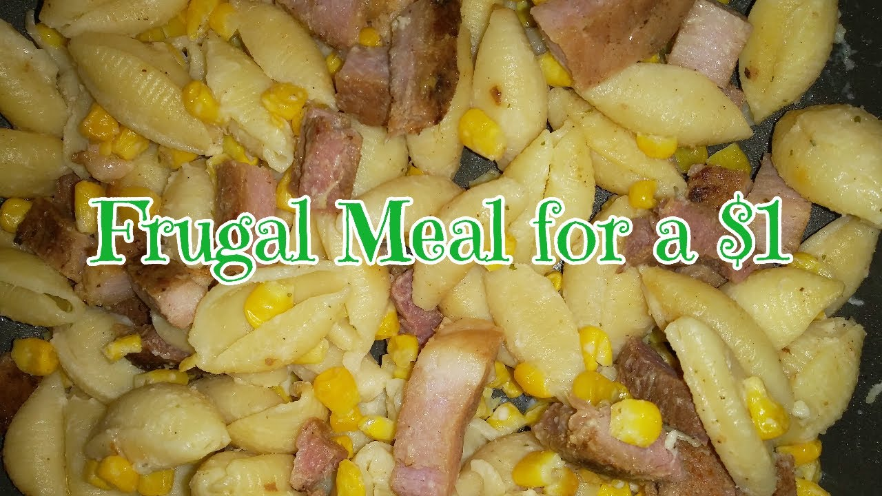 Budget Meal For Under $5 - Frugal CooKing with Koa