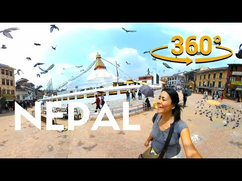 NEPAL in 360 Virtual Reality Tour