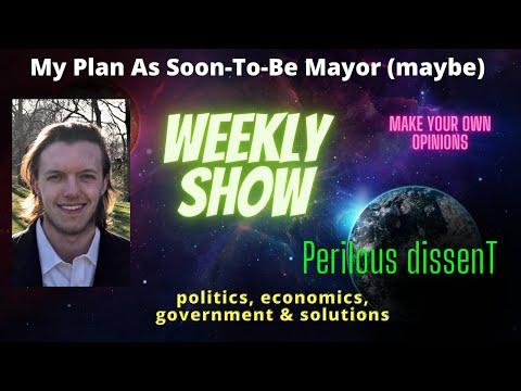 Brandon Baltes brings his plan forward for Mayor