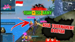 ASIA TOURNAMENT SECOND BOOYAH || FULL HIGHLIGHTS || 10 KILLS 😮 || WAY TO INDONESIA🇮🇩 #FREEFIRE