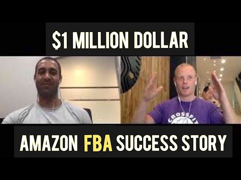 NATE just sold his Amazon FBA business for A MILLI! .. after just 3 years! Million Dollar Case Study