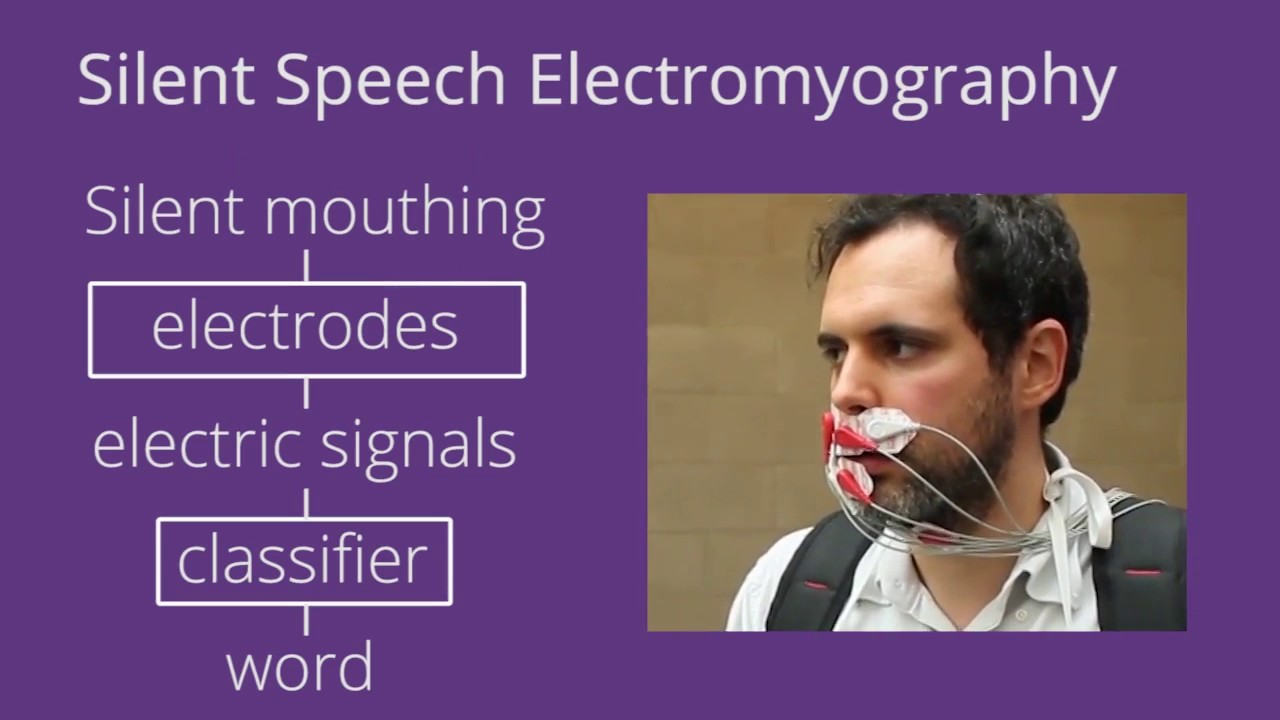 """Résultat de recherche d'images pour """"Project Telepathy: Targeted Verbal Communication using 3D Beamforming Speakers and Facial Electromyography"""""""