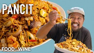 Sheldon Simeon's Pancit Filipino Noodle Dish Will Be The Star of Your Next Cookout   Chefs At Home