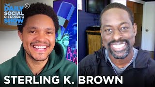 Sterling K. Brown - Racism in America & Uncovering Family History | The Daily Social Distancing Show