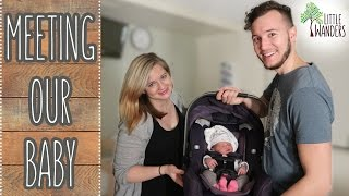 MEETING OUR BABY!! | Little Wanders: Corbin & Kelsey