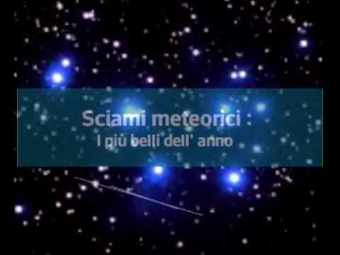 Pioggia di meteore : quando osservarle