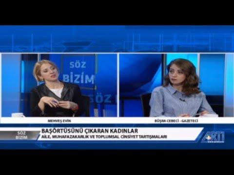 Söz Bizim-1-Mehveş Evin Konuk-Aslı Çarkoğlu-Ayşe Çavdar-Büşra Cebeci 22 Ocak 2019