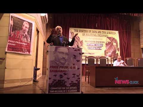 """India's Democracy As Bad As Dictatorship With Draconian Laws Like UAPA"""