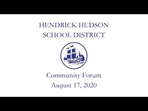 Community Forum 08-17-2020