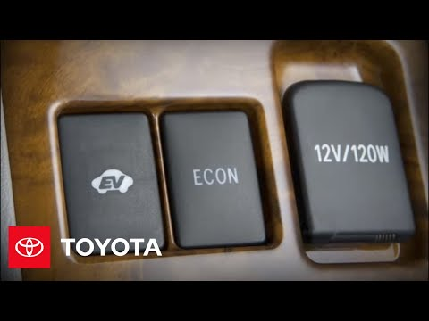 2011-2012 Highlander Hybrid How-To: EV Mode | Toyota