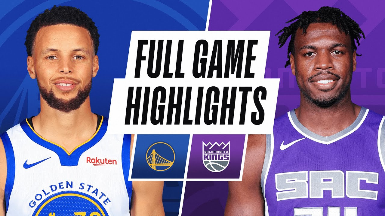 Kings Vs Warriors Highlights Warriors Win 113 109 Steph Curry Scores 29 In Their Last Nba Preseason Game