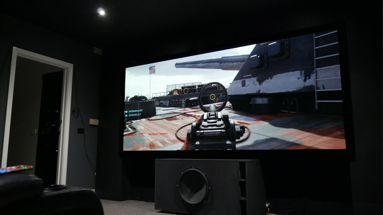 Call Of Duty WWII Xbox One X 4k Projector Epson