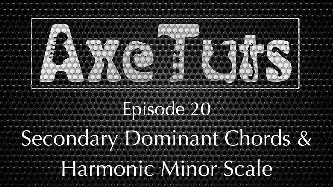 how to make a harmonic minor chord progression