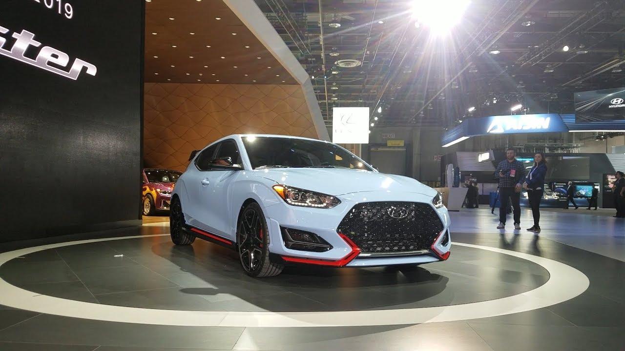 2019 Hyundai Veloster N: 2018 Detroit Auto Show