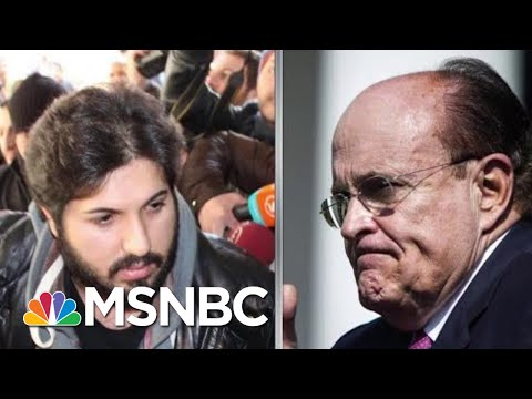 Trump Asked Rex Tillerson To Help Giuliani Client With DOJ: Bloomberg | Rachel Maddow | MSNBC