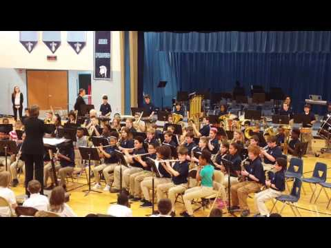 """2017 Tates Creek Middle School Sixth Grade Band """"Wingate March"""""""