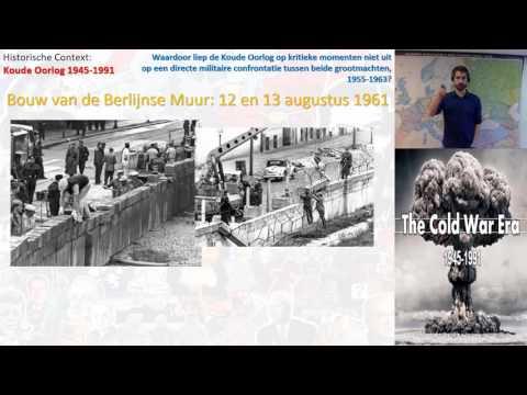VWO 6: Context Koude Oorlog deelvraag 3: 1955-1963 - Hoogtepunten