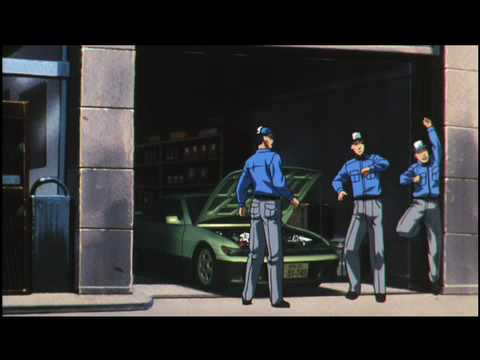 Initial D 3rd Stage - Now On DVD & Digital - Anime Clip 1